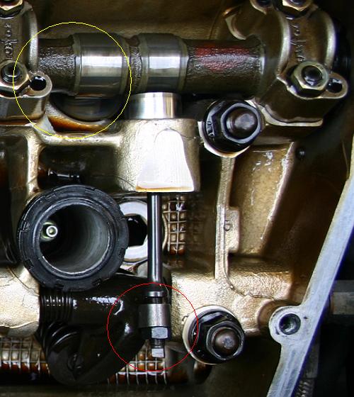 Alfa, V6, szelephézag állítás